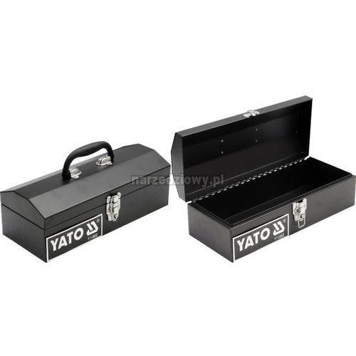 Towar z kategorii: skrzynki i walizki narzędziowe - YATO Skrzynka narzędziowa metalowa 360x150x115 mm 10 uro