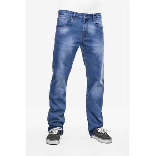 spodnie REELL - Lowfly Stone Blue Flow (STONE BLUE FLOW) rozmiar: 34/34 - produkt z kategorii- spodnie męskie