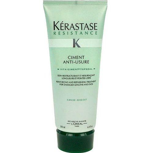 Produkt z kategorii- odżywki do włosów - Kerastase Resistance Ciment Anti Usure 200ml W Odżywka do włosów zniszczonych i osłabionych + Próbka perfum GRATIS + Wysyłka od 6zł!