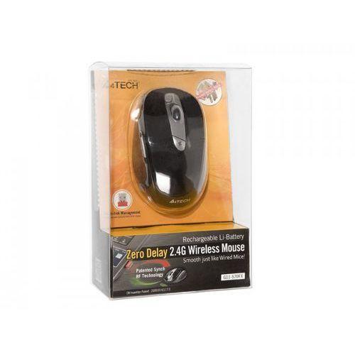 A4-Tech A4Tech RF V-TRACK G11-570FX (Black+Silver) nano z kat. myszy, trackballe i wskaźniki
