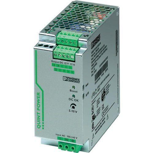 Artykuł Zasilacz na szynę Phoenix Contact QUINT-PS/1AC/12DC/15, 12V, 15 A z kategorii transformatory