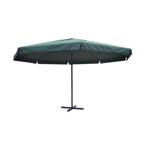 Parasol ogrodowy aluminiowy (500 cm) zielony - oferta [15baeb00e162640f]