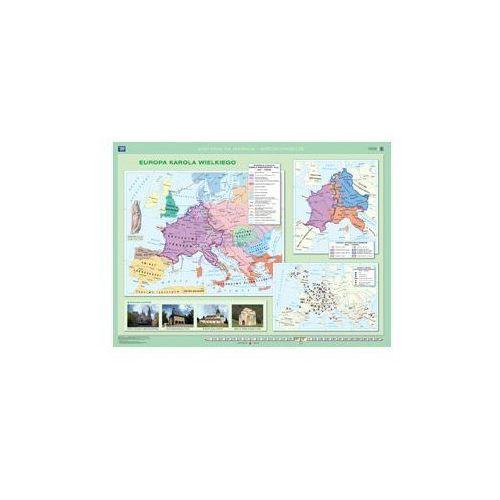 Produkt Europa wczesnośredniowieczna / Europa Karola Wielkiego. Mapa ścienna Europy. , marki Nowa Era