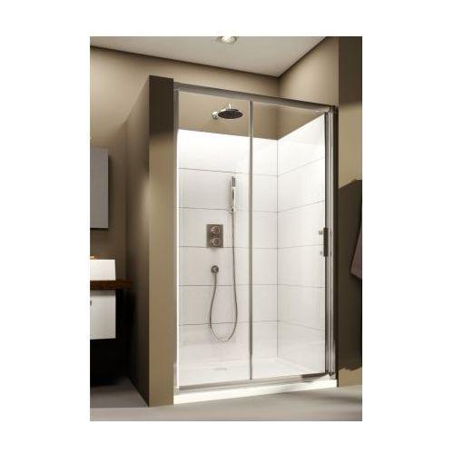 AQUAFORM SUPRA PRO Drzwi prysznicowe 100, profile chrom, szkło transparentne 103-09329 (drzwi prysznicowe)