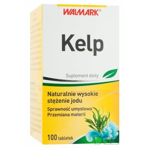 Kelp 0,15 mg Jodu x 100 tabl., postać leku: tabletki