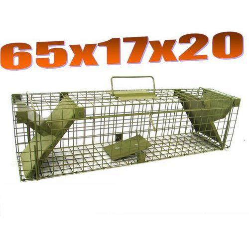 Pułapka dwuwejściowa na szczury, łasice ZL S2 od Mediasklep24