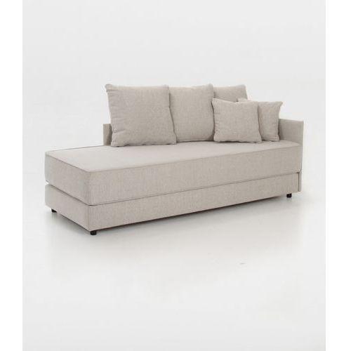 Sofa rozkładana Chile 201x83 cm, piaskowy, tkanina, Actona Company