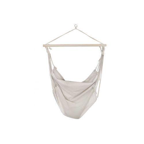 Fotel hamakowy, biały, bawełna., produkt marki vidaXL