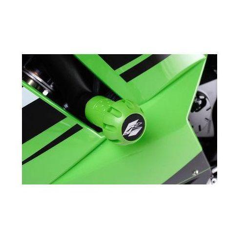 Puig y Kawasaki ZX6R; 2007-2008 (zielone) | TRANSPORT KURIEREM GRATIS z kat. crash pady motocyklowe