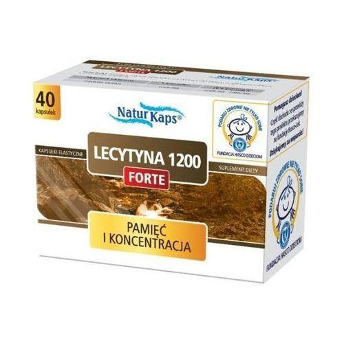 Naturkaps Lecytyna 1200 Forte kaps. - 40 kaps., postać leku: kapsułki
