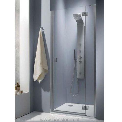Oferta Essenza DWJ Radaway 80 drzwi wnękowe prawe przejrzyste - 32712-01-01NR (drzwi prysznicowe)