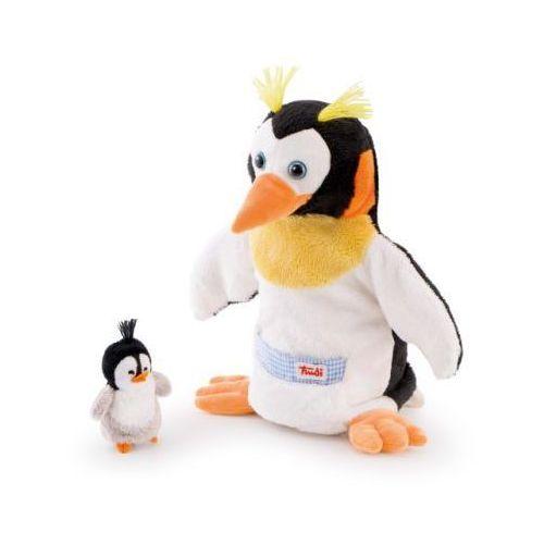 TRUDI Pacynka Pingwin z maleństwem (pacynka, kukiełka)