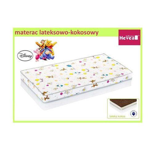 Produkt HEVEA MATERAC LATEKSOWO-KOKOSOWY DISNEY BABY KUBUŚ PUCHATEK 120x60