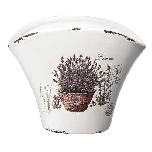 Osłonka ceramiczna Lawenda 17cm - sprawdź w CitiHome.pl