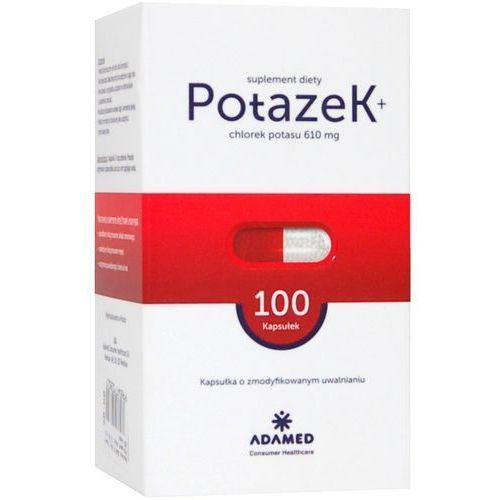 Potazek x 100 kaps., postać leku: kapsułki