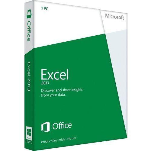 Produkt z kategorii- pozostałe oprogramowanie - Microsoft Excel 2013 32-bit/x64 PL Win ESD