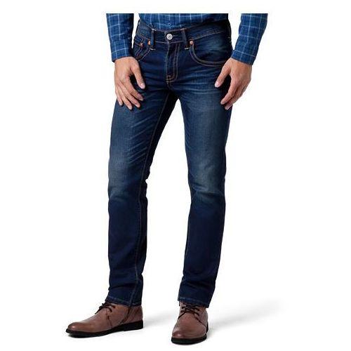 Levi's® 15482 Double Stitch 511 Slim Blue Dark - produkt z kategorii- spodnie męskie