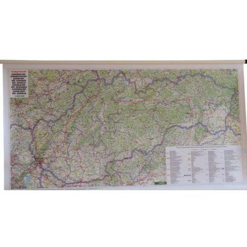 Słowacja. Mapa ścienna drogowa 1:400 000 wyd. Freytag & Berndt, produkt marki Freytag&Berndt