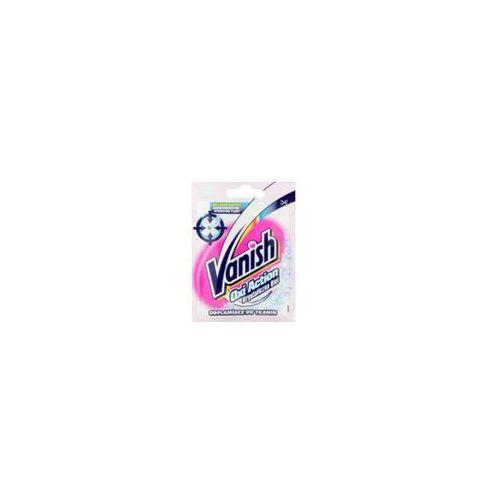 Odplamiacz VANISH Oxi Action Krystaliczna Biel odplamiacz do tkanin 30 g (wybielacz i odplamiacz do ubrań) od