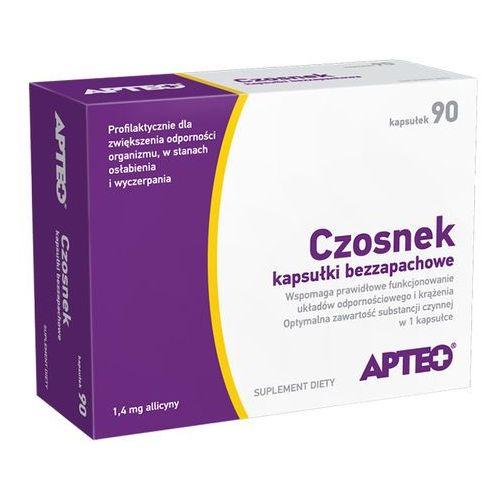 CZOSNEK kapsułki bezzapachowe 90 kapsułek, postać leku: kapsułki