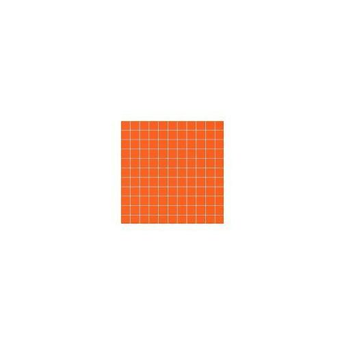 Tubądzin Mozaika ścienna kwadratowa Orange 30x30 cm (glazura i terakota)