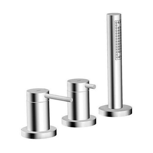 Produkt z kategorii- pozostałe artykuły hydrauliczne - HansaDesigno zestaw montażowy 3-otworowy- 53259073