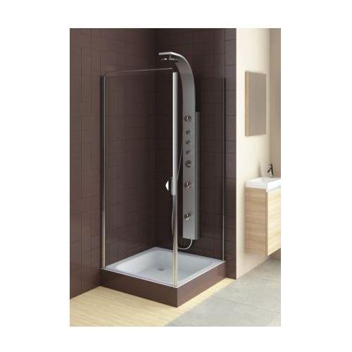 Oferta AQUAFORM drzwi Glass 5 80 uchylne, montaż we wnęce lub ze ścianką 103-06369/103-06367 (drzwi pryszn
