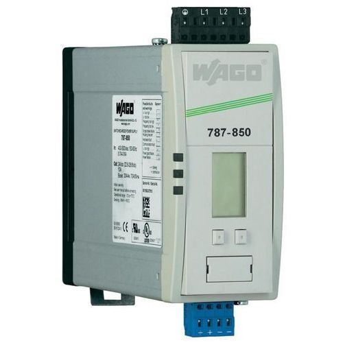 Artykuł Zasilacz impulsowany po stronie pierwotnej WAGO EPSITRON® PRO 787-850, 24 V/DC, 10 A, 240 W z katego
