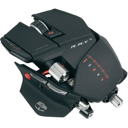 Madcatz  gaming mouse r.a.t. 9 black