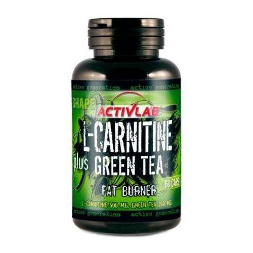 l-carnitine + green tee - 60 kapsułek wyprodukowany przez Activlab