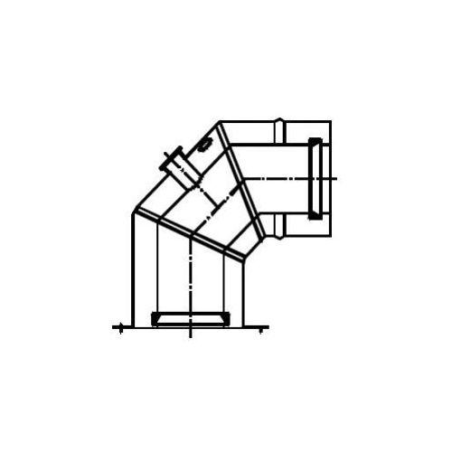 Oferta Termet (K) Kolano koncentryczne 90° (Ø80/125) z kołnierzem montażowym z kat.: ogrzewanie