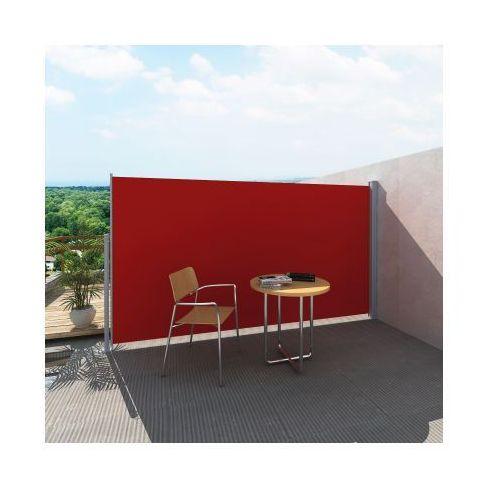 Markiza boczna 180 x 300 cm czerwona - sprawdź w VidaXL