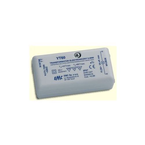 EMC TRANSFORMATORY ELEKTRONICZNE YT 60 z kategorii Transformatory