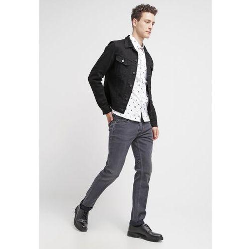 GAS MORRISON Jeansy Straight leg black - produkt z kategorii- spodnie męskie