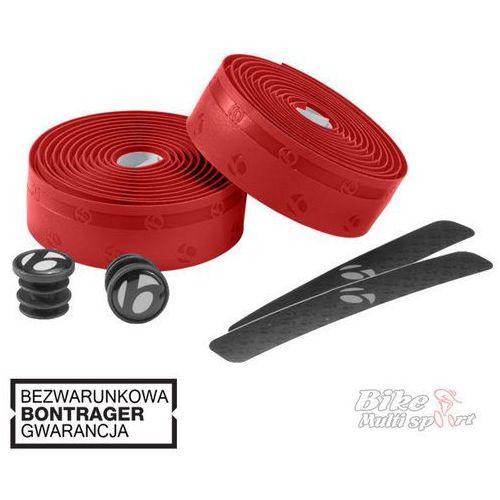 Owijka Gel Grip do kierownic Bontrager czerwona - Czerwony - oferta [65b5deaf2f53c5dc]
