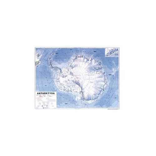 Produkt Antarktyda. Mapa ścienna ogólnogeograficzna Antarktydy, marki Nowa Era