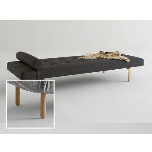 Sofa Napper czarna 564 nogi jasne drewno Stem  740030564-740032-1, INNOVATION iStyle