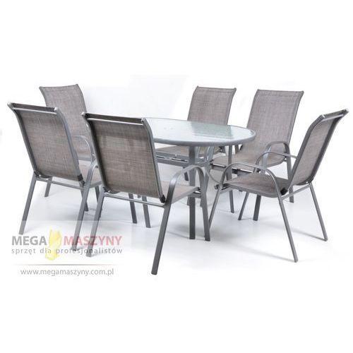 HECHT Zestaw mebli ogrodowych stół + 6 krzeseł Ekonomy Set od Megamaszyny - sprzęt dla profesjonalistów