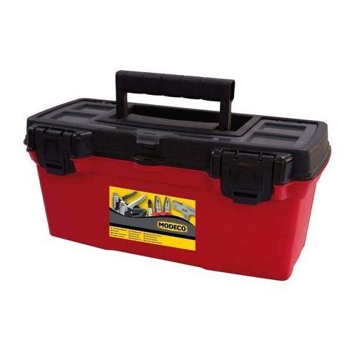 Towar Skrzynka narzędziowa 390 x 190 x 170 MODECO z kategorii skrzynki i walizki narzędziowe