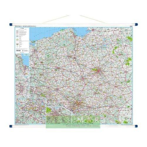Polska. Mapa ścienna drogowa 1:700 000 wyd. , produkt marki Eko-Graf