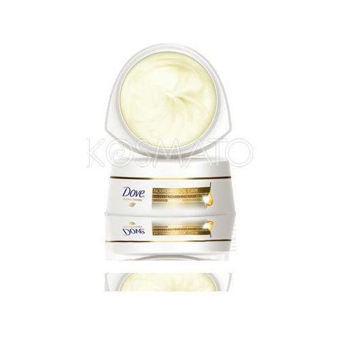 Produkt z kategorii- pozostałe kosmetyki do włosów - Dove Nourishing Oil Care Maska, 200 ml
