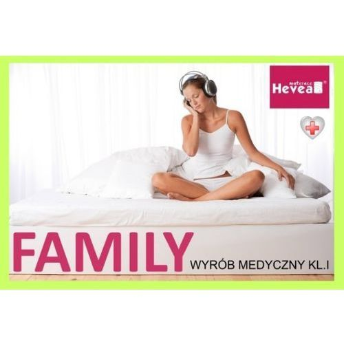 Produkt Materac lateksowy  Family Medicare 140/200, marki Hevea