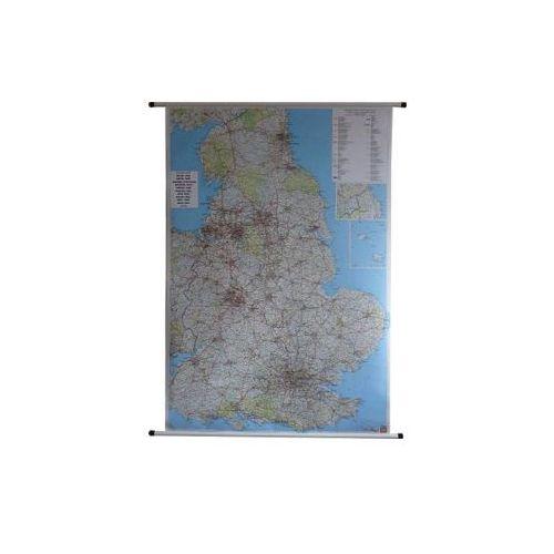 Anglia i Walia mapa ścienna samochodowa 1:400 000  & Berndt, produkt marki Freytag