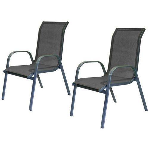 Happy Green Krzesła ogrodowe, antracyt - 2szt - produkt dostępny w Mall.pl