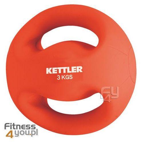 Piłka do ćwiczeń 3 kg z uchwytami  07370-044, produkt marki Kettler
