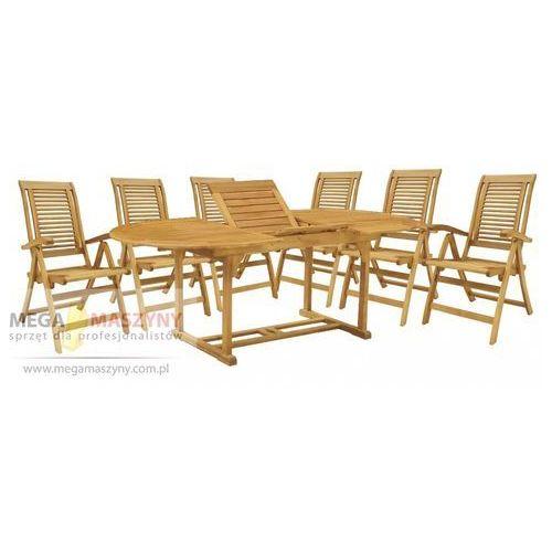 HECHT Zestaw mebli ogrodowych stół + 6 krzeseł Camberet Set od Megamaszyny - sprzęt dla profesjonalistów