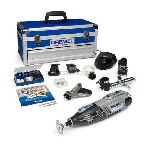 Produkt DREMEL Akumulatorowe narzędzie wielofunkcyjne 8200 Platinum Edition z dodatkowym akumulatorem i zestawem osprzętu w walizce 10 urodziny Narzedziowy.pl Wielkie obniżki