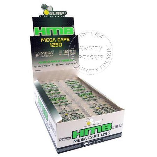 OLIMP HMB MEGA CAPS 1250 mg 30 kapsułek