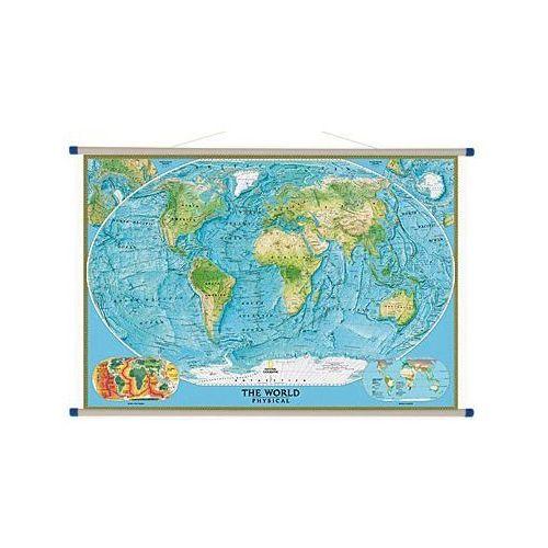 Świat. Mapa ścienna fizyczna 1:24 mln wyd. , produkt marki National Geographic