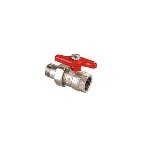 Zawór grzejnikowy ze śrubunkiem perfect 1/2 ,wzmacniany wyprodukowany przez Perfexim